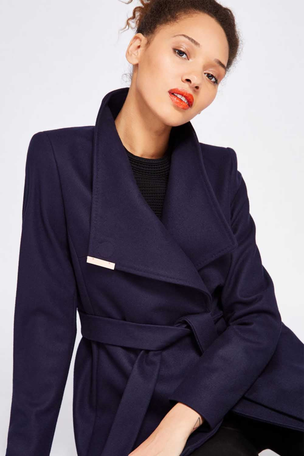 new arrival low priced cheap sale SQUARE | Coat Ted Baker 011240