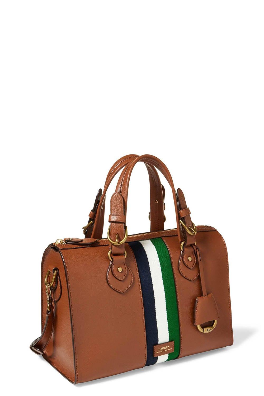 Ralph Lauren Pebbled Leather Duffle Bag   ReGreen Springfield 23605a3f8c
